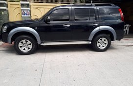 Black Ford Everest 2008 at 90000 km for sale in Quezon City
