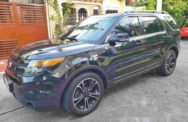 Black Ford Explorer 2015 Automatic Gasoline for sale