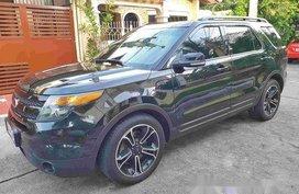 Black Ford Explorer 2015 Automatic Gasoline for sale