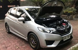 Sell Used 2015 Honda Jazz Manual Gasoline at 30000 km in Quezon City
