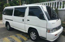 Selling Nissan Urvan 2012 Manual Gasoline in Makati