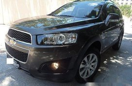 Sell Brown 2016 Chevrolet Captiva Automatic Diesel at 4000 km