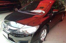 Black Honda Civic 2010 Automatic Gasoline for sale
