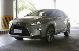 Silver Lexus Rx 350 2017 for sale in Quezon City