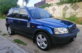 Selling 2nd Hand Honda Cr-V 1999 at 130000 km in Quezon City