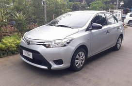 Silver Toyota Vios 2016 Manual Gasoline for sale