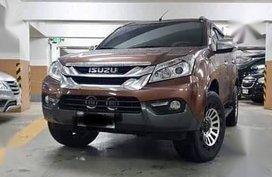 2nd Hand Isuzu Mu-X 2015 for sale in Muntinlupa