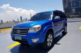 Blue Ford Everest 2011 for sale in Mandaluyong