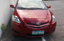 Red Toyota Vios 2008 for sale in Quezon City