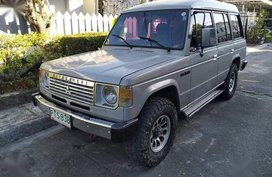 Mitsubishi Pajero 1991 Manual Diesel for sale in Parañaque