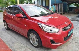 Red Hyundai Accent 2013 Manual Diesel for sale