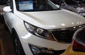 Selling White Kia Sportage 2014 Automatic Gasoline in Manila