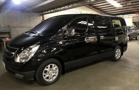 Black Hyundai Starex 2011 for sale in Quezon City
