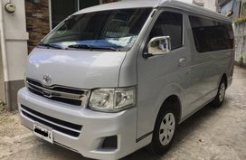 Sell Used 2012 Toyota Hiace Manual Diesel in Quezon City