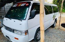 Selling White Nissan Urvan Escapade 2014 Manual Diesel