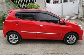 Selling Red 2nd Hand Toyota Wigo 2016 Automatic
