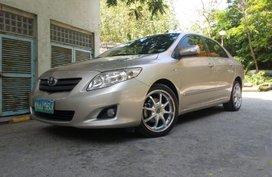 Toyota Altis 2008 Manual Gasoline for sale in Manila