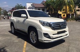 Selling Toyota Land Cruiser Prado 2016 Automatic Diesel in Quezon City