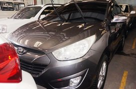 Grey Hyundai Tucson 2010 Automatic Diesel for sale in Manila