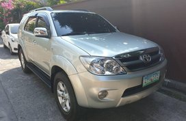 2nd Hand Toyota Fortuner 2007 for sale in Quezon City