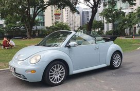Volkswagen Beetle 2004 Convertible Automatic Gasoline for sale in Cainta
