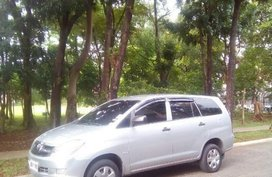 Toyota Innova 2008 Manual Gasoline for sale in Quezon City