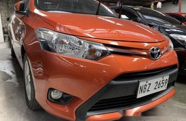 Orange Toyota Vios 2017 at 7000 km for sale