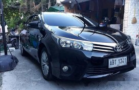 Sell Black 2015 Toyota Corolla Altis Automatic Gasoline at 17000 km