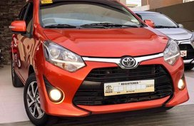 Selling 2nd Hand Toyota Wigo 2018 Automatic Gasoline at 10000 km in Angeles
