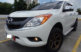 White 2015 Mazda Bt-50 Truck at 28000 km for sale in Quezon City