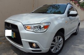 White 2012 Mitsubishi Asx Automatic Gasoline for sale
