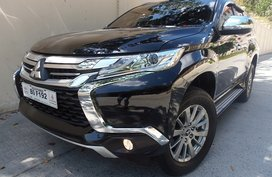 Sell Black 2018 Mitsubishi Montero Sport at 9000 km in Quezon City