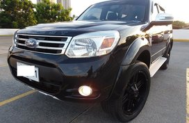 Sell Black 2015 Ford Everest Automatic Diesel in Quezon City