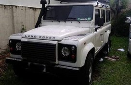 2009 Land Rover Defender for sale in Quezon City