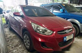 Red Hyundai Accent 2018 for sale in Makati