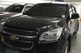 Selling Black Chevrolet Trailblazer 2013 Manual Diesel in Makati