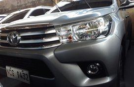 Selling Toyota Hilux 2017 Manual Diesel in Quezon City