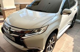 Sell 2nd Hand 2017 Mitsubishi Montero Sport Automatic Diesel in Quezon City