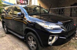 Sell Black 2018 Toyota Fortuner in Quezon City