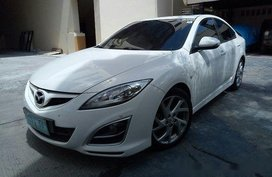 Sell White 2012 Mazda 6 at 95000 km