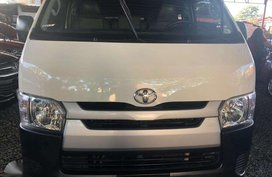 Selling White Toyota Hiace 2019 Van in Quezon City