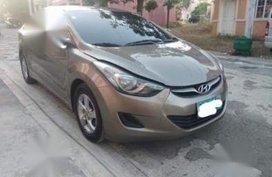 Selling Hyundai Elantra 2012 Automatic Gasoline in Las Piñas