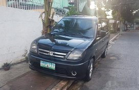 Sell Black 2011 Mitsubishi Adventure Manual Diesel at 80000 km in Quezon City