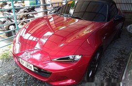 Selling Red Mazda Mx-5 2015 in Meycauayan