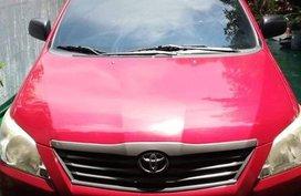 2nd Hand Toyota Innova 2013 Manual Diesel for sale in Marikina