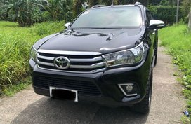 Selling 2nd Hand Toyota Hilux 2016 in Davao City