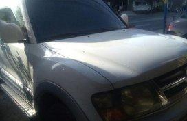 Selling White Mitsubishi Pajero 1997 Automatic Gasoline in Muntinlupa
