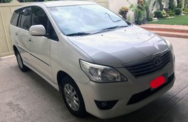 Selling 2nd Hand Toyota Innova 2012 Automatic Diesel in Quezon City