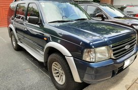 Selling Blue Ford Everest 2003 in Quezon City