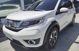 White Honda BR-V 2018 Automatic Gasoline for sale in Paranaque